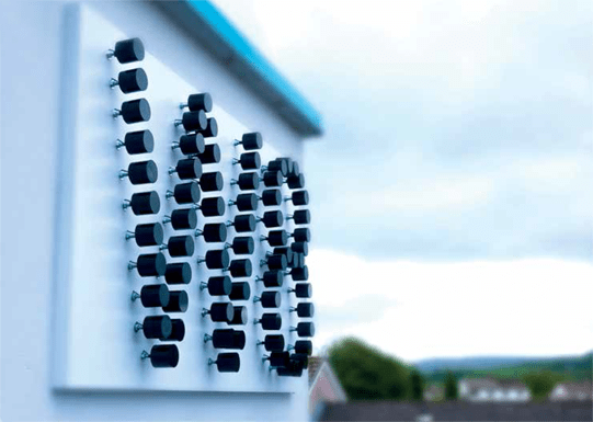 W8 Centre, Signage, W8 Village holiday accommodation, Osta restaurant, culture and innovation - Manorhamilton, Ireland.