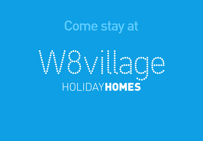 W8 Village Holiday Homes at W8 Centre, logo, Osta restaurant, culture and innovation - Manorhamilton, Ireland.
