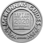 McKennas Guides Best in Ireland 2020, Osta Restaurant at W8 Centre, accommodation, culture and innovation - Manorhamilton, Ireland.